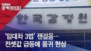 임대차 3법' 잰걸음…전셋값 급등에 품귀 현상 - YouTube
