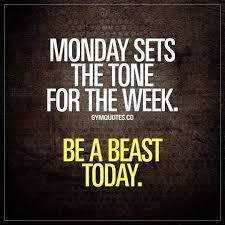 Beasting Today Mermaids Lift Kickbox Monday Motivation