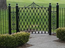 garden gates and fences. Full Size Of Furniture:wood And Wrought Iron Combination For Gate Fence Modern Home Garden Gates Fences