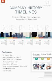 Powerpoint History Company History Timelines Diagrams Powerpoint Presentation