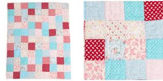 Girls Cot Bed Quilts - childrens bedding & Matilda Cot Bed Patchwork Quilt Adamdwight.com