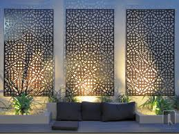 grail laser cut screen the outdoor wall art is a contemporary with regard to exterior design 2