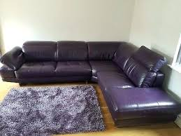 purple leather sofas uk sofa living room settee velvet with red piping corner
