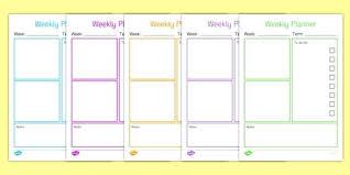 Teacher Weekly Planners Teacher Planning Calendar Template Teachers Weekly Jjbuilding Info