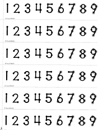 11 Bright Roman Numeral Number Chart