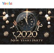 <b>Yeele</b> 2020 New Year <b>Family Party</b> Decor Painting Vinyl Photocall ...
