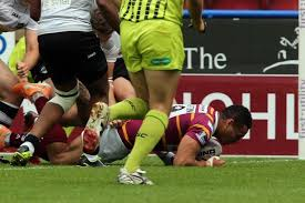 Huddersfield Giants 38 London Broncos 22: Examiner Match Report ...