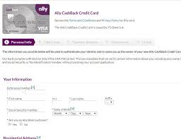 Personal Info Cards Ally Bank Credit Cards Review Read Before You Apply