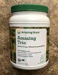 Amazing Grass <b>Amazing Trio</b> Powder - 100 Servings 28.2 oz ...