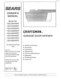 Garage Door liftmaster garage door opener manual photos : Fantastic Hp Garage Doorener Photos Design Craftsman Manual In ...