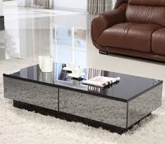 black low rectangle modern minimalist mirrored glass z gallerie in interesting z gallerie mirrored coffee table