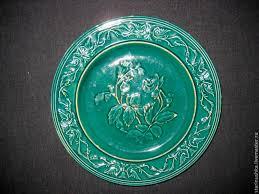 Винтаж: Старинная <b>тарелка</b> с <b>нежным</b> декором. <b>19</b> век ...