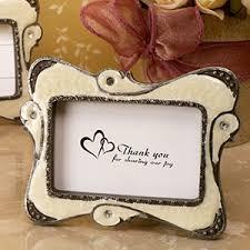 Stylish Ivory Epoxy Place Card Frame