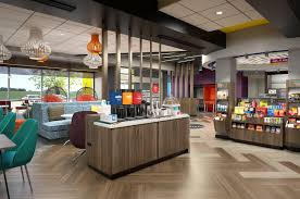 hotel complimentary coffee area