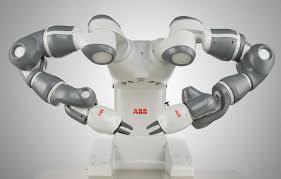 image abb yumi a collaborative robot developed by abb