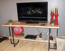 live edge tv stand. Simple Stand Live Edge TV Stand On Tv R