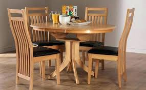 round wooden dining table with leaf wood kitchen tables appealing rustic for 8 dark drop