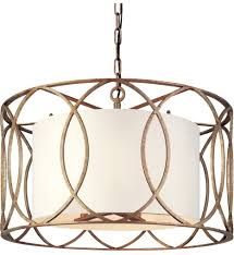troy lighting f1285sg sausalito silver gold 5 light pendant undefined