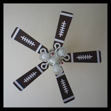 New For The Bedroom Old Fan Made New For My Sons Sports Themed Bedroom Nolans