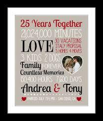 anniversary gift for husband 25th wedding anniversary gift for man 25th anniversary gift for pa paper anniversary custom