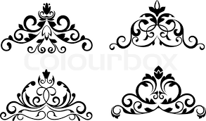 Design Patterns Stunning Floral Patterns And Borders For Design And Ornate Stock Vector