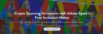 invitation maker create invitations for adobe spark