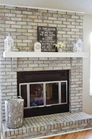 Paint Brick Fireplace Ideas Black. Paint Brick Fireplace Gray Painted Wood  Mantle Grey. Paint Brick Fireplace Or Not Red Black.