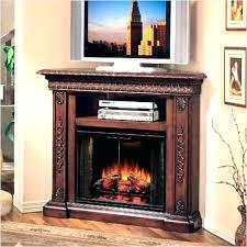 corner electric fireplace tv stand oak fireplace mantels