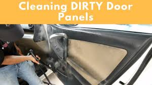 2 methods to clean interior door panels interior car cleaning tips business advice