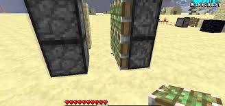 minecraft door. How To Use Pistons Build A Secret Door In Minecraft « PC Games :: WonderHowTo