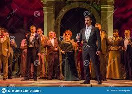 Classical Opera Traviata editorial stock photo. Image of entertainment -  140297873