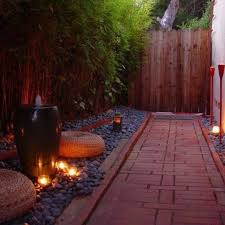 Side Yard Lighting Landscaping Ideas For Narrow Side Yards Courtyards Side