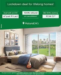 L & T REJUVE 360 : Mulund, Mumbai : 2 , 2.5, 3 & 3.5 BHK Residences