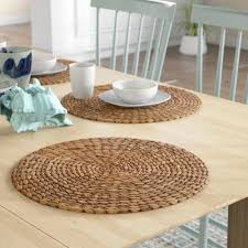 fullsize of favorite round tables uk vinyl placemats radburn round sea grass placemat reviews joss main