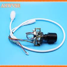 Varifocal 2.8-12mm Lens CCTV <b>POE</b> IP Camera <b>module Board</b> PCB ...