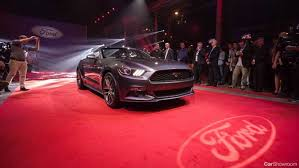new car launches australia 2015News  2015 Ford Mustang Launched in Style