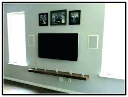 floating shelf for tv cabinet best wall stand ideas on with stands shelves mount around mounted