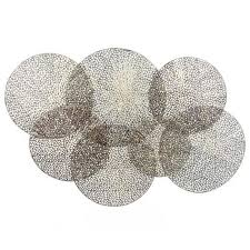 fp collection circles metal wall art