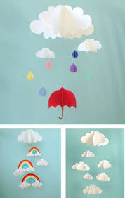wall art ideas design raining umbrella 3d paper wall art breathtaking blue colours background paper cutting diy easy to make 3d paper wall art creative  on 3d paper wall art diy with wall art ideas design raining umbrella 3d paper wall art