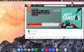 soundcloud application mac