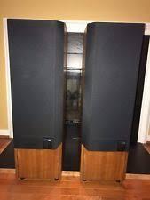 kef 105 2. kef reference 104/2 audiophile loudspeakers - oak color kef 105 2