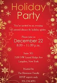 Printable Holiday Party Invitation Templates Free Download Them Or