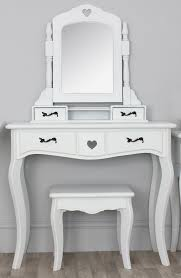 Small Vanities For Bedrooms Ivory Stained Wooden Mirror Vanity Dressing Table And Ivory Wooden