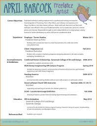 Artist Resume Template Tomyumtumweb Outstanding Templates Sample