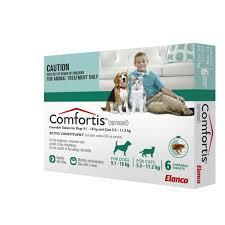 comfortis flea pill for cats. Modren Pill Comfortis Chewable Flea Tablets Cat 55112kg Dog 9118kg  Green 6 On Pill For Cats