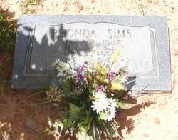Rhonda Gail Sims (1945-1975) - Find A Grave Memorial