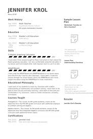 Math Teacher Resume Math Teacher Resume Best Resume Objective