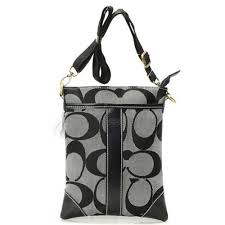 Coach Legacy Swingpack In Signature Small Grey Crossbody Bags AVE Outlet  Online