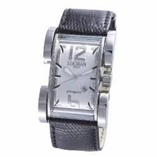 locman brand swatch com locman men s watches latin lover silver dial black reptile band automatic watch