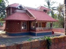 kerala style hut model house low cost